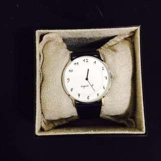 降價🙏🏻agnes b 手錶