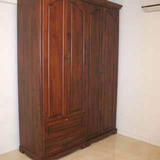Solid Wood Cupboard