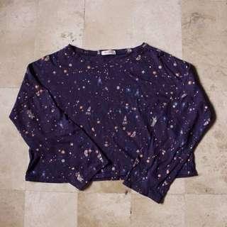 jellybean cropped sweater