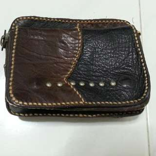 Genuine Handcrafted Leather Pouch