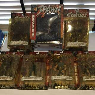 Curse Of The Spawn Action Figure (full Set)