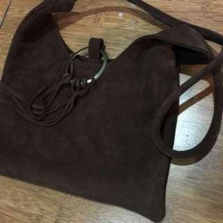 Tas Wanita Sling Bag Coklat