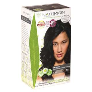 SAVE OVER 23%! NATURIGIN (2.0 BLACK) 100% PERMANENT ORGANIC HAIR COLOR