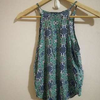 Beautiful Patterned A-Line Summer Top