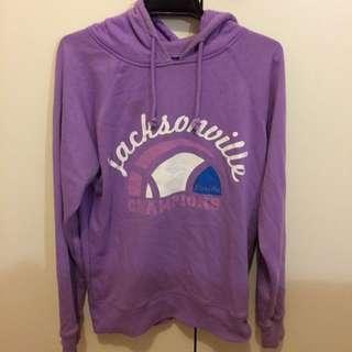 Purple Lightweight Cotton On Hoodie