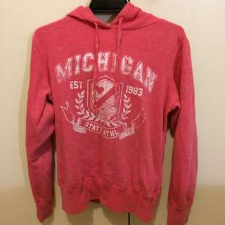 Red Cotton On Hoodie