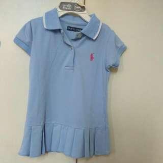 Polo Ralph Lauren Baby Blue Dress Kids