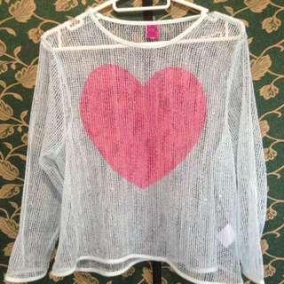 Fiorucci Net Long sleeves
