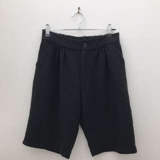 Black Suit Short Pants