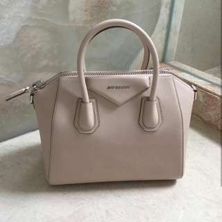 Givenchy Small Antigona Nude Grained