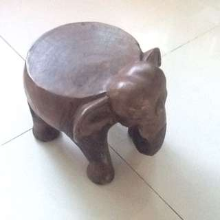 Looking For Wooden Elephant