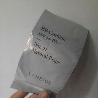 Laneige bb Cushion refill In Shade 21 Natural Beige
