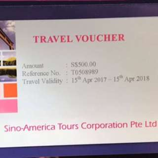 SA Tour Vouchers Worth Of $2500