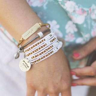 Handmade Wrap Bracelet (Chan Luu style) #i❤️️therapiimanila