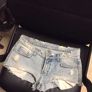jean shorts size xs-s