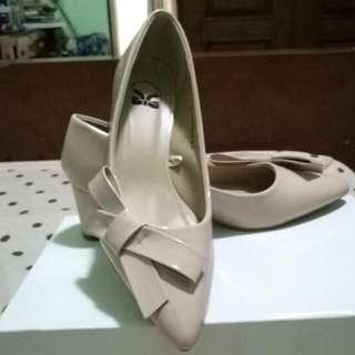 Tltsn Heels Cream pink