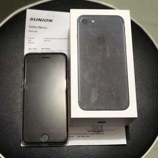 99%新 iPhone7 細啞黑128gb 全套有單