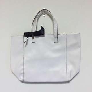 簡約時尚品牌手提大方包/購物包