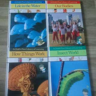 """Titles From """"A Child's First Library Of Learning"""""""