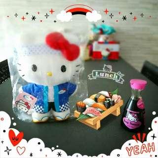 Sushi Master! Hello Kitty Plush