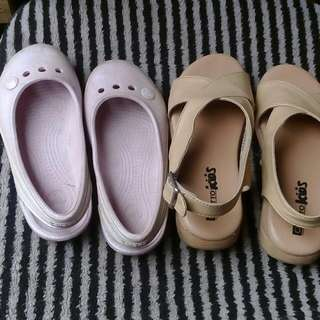 Crocs and otto girls shoes sandals
