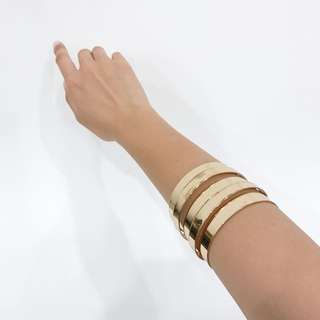Golden Bangles Set Of 2
