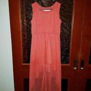 DESIGNER KIDZ Red Flowy Dress
