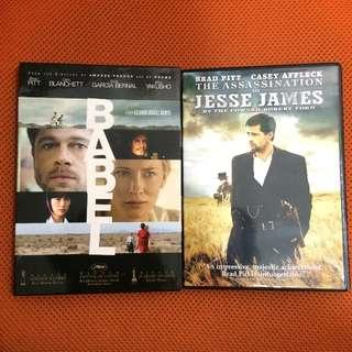 Brad Pitt movie DVD