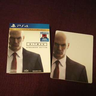 PS4 Hitman The Complete First Season (Steelbook)