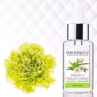 Serum Skinz Vit C Aloe Vera + Chamomile