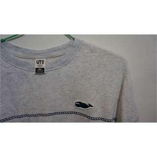 🚚 Uniqlo 鯨魚條紋長棉T