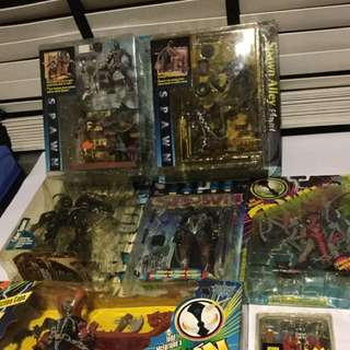 Bundle Of Spawn Action Figures