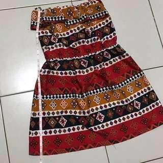 Tube summer dress