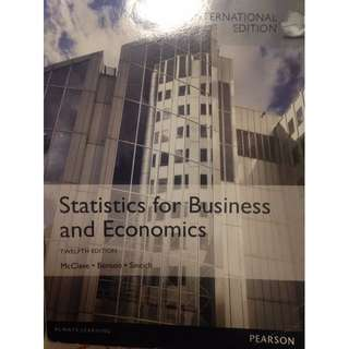 Statistics for Business and Economics ( Twelfth Edition )