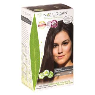 NATURIGIN (4.0 BROWN) 100% PERMANENT ORGANIC HAIR COLOR