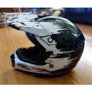 Assault dirt bike helmet