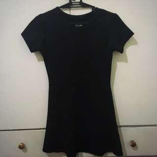 Shapes Black Skater Dress
