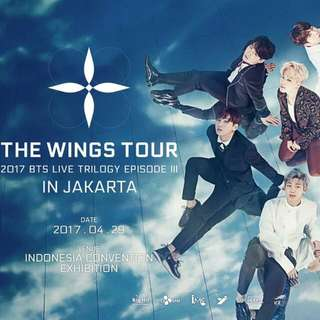 Tiket BTS Live Trilogy Episode III The Wings Tour In Jakarta