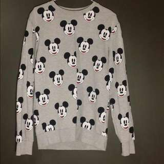 Oversized Disney crewneck Sweater