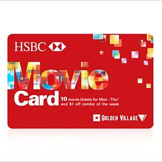 GV Weekdays Movie Card
