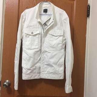 CK 白外套(百扣外套)