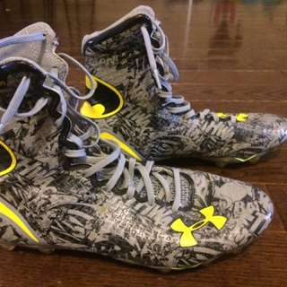 Batman Under Armour Football Cleats
