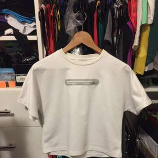 Dion Lee for Target white t-shirt Size 8