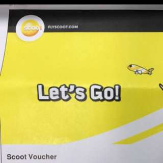 Scoot Voucher (Pay $350 for $400 worth of vouchers)