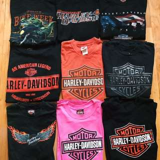 Vintage And Authentic Harley Davidson Tshirt