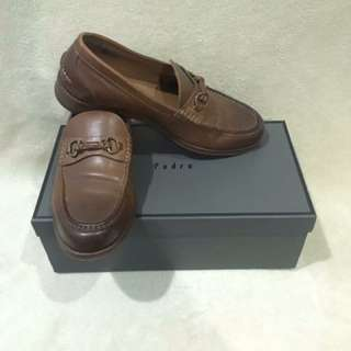 PEDRO Brown Leather Shoes Size 9