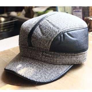 防風耳罩式鴨舌帽