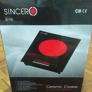 BNIB 1yr Warranty Sincero Ceramic Induction Cooker