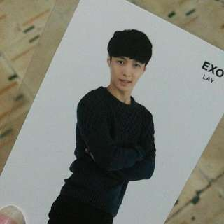 EXO LAY OFFICIAL SUM PHOTOCARD