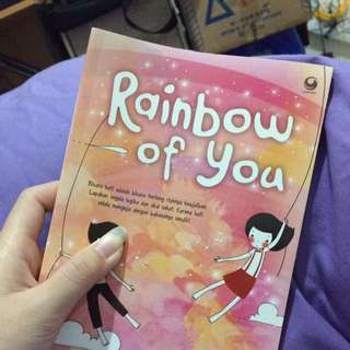 Novel Rainbow Of You - Indah Hanaco
